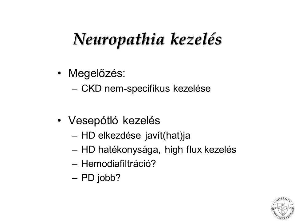 Neuropathia kezelés Megelőzés: Vesepótló kezelés