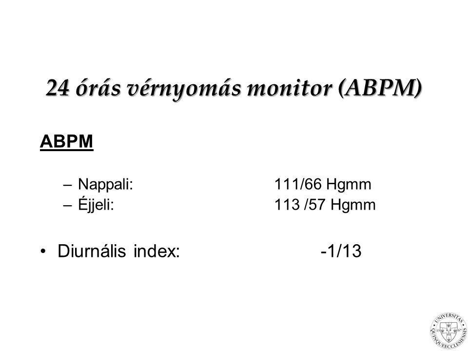 24 órás vérnyomás monitor (ABPM)