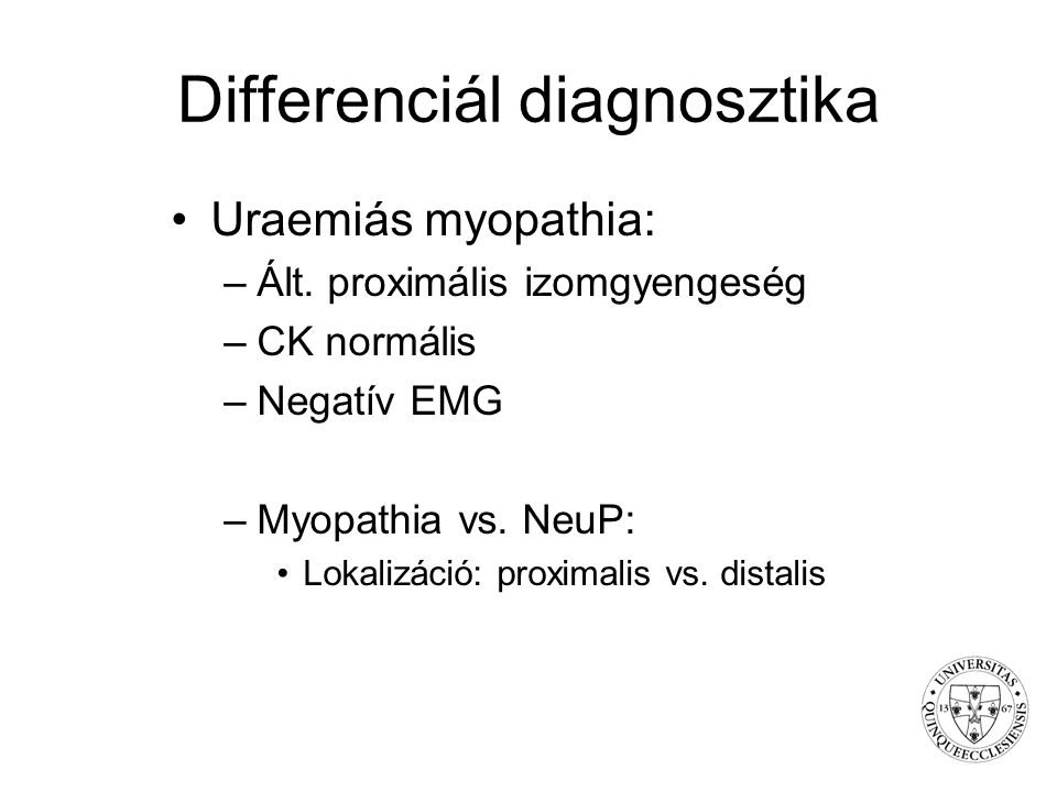 Differenciál diagnosztika