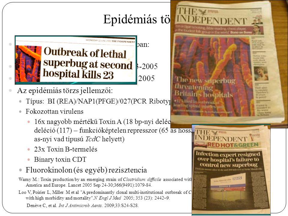 Epidémiás törzs 2003 június 04: két outbreak Kanadában: