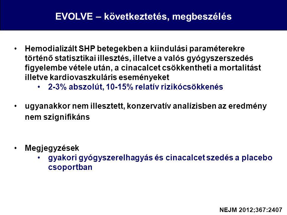 EVOLVE – következtetés, megbeszélés