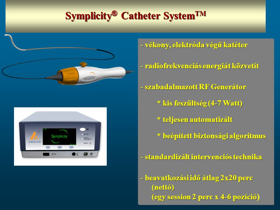 Symplicity® Catheter SystemTM