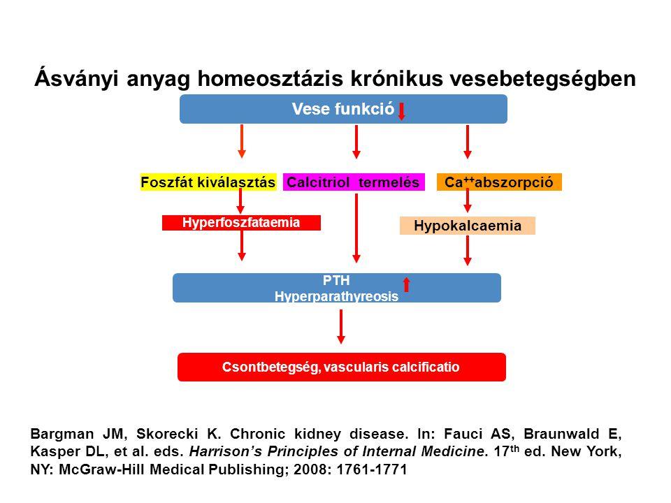 Ásványi anyag homeosztázis krónikus vesebetegségben