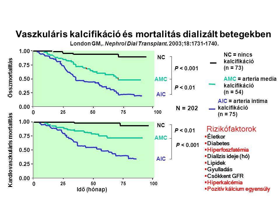 Vaszkuláris kalcifikáció és mortalitás dializált betegekben