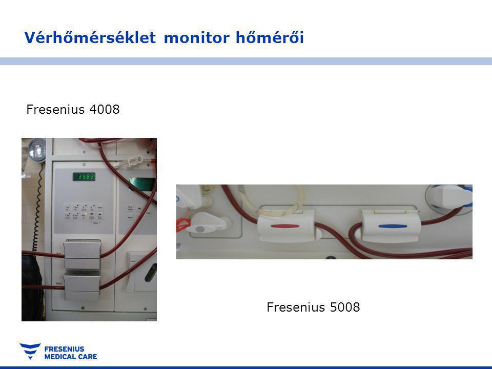 Vérhőmérséklet monitor hőmérői