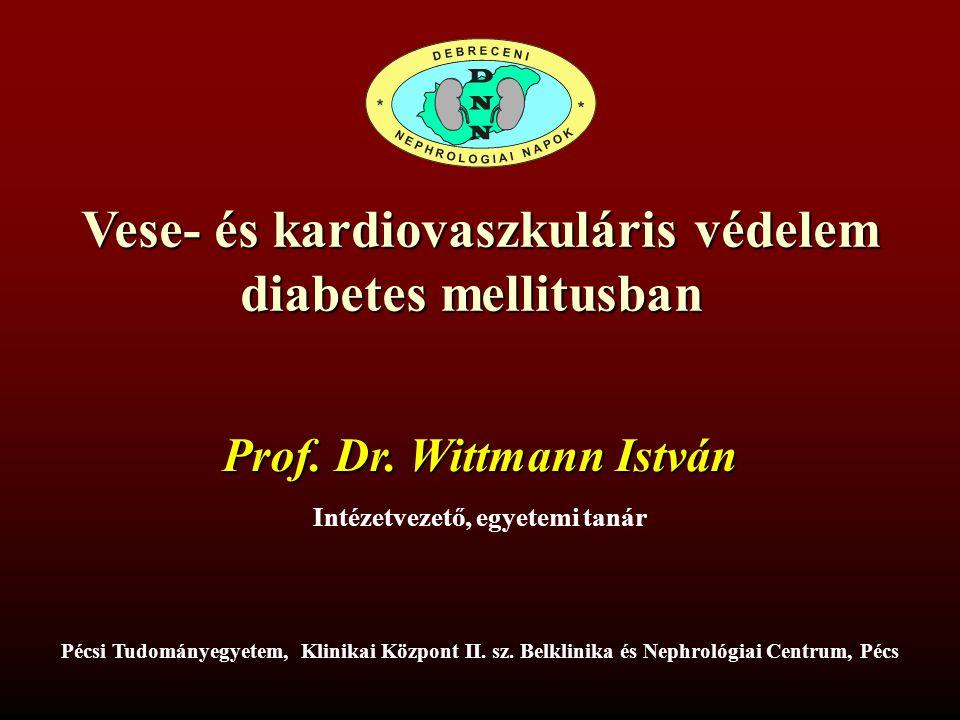 Vese- és kardiovaszkuláris védelem diabetes mellitusban