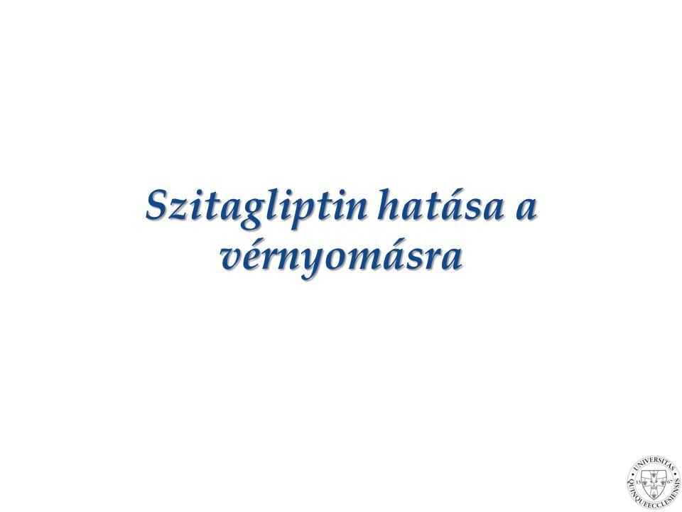 Szitagliptin hatása a vérnyomásra