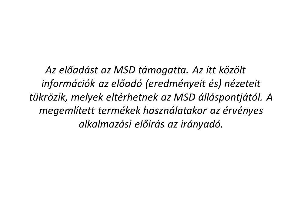 Az előadást az MSD támogatta