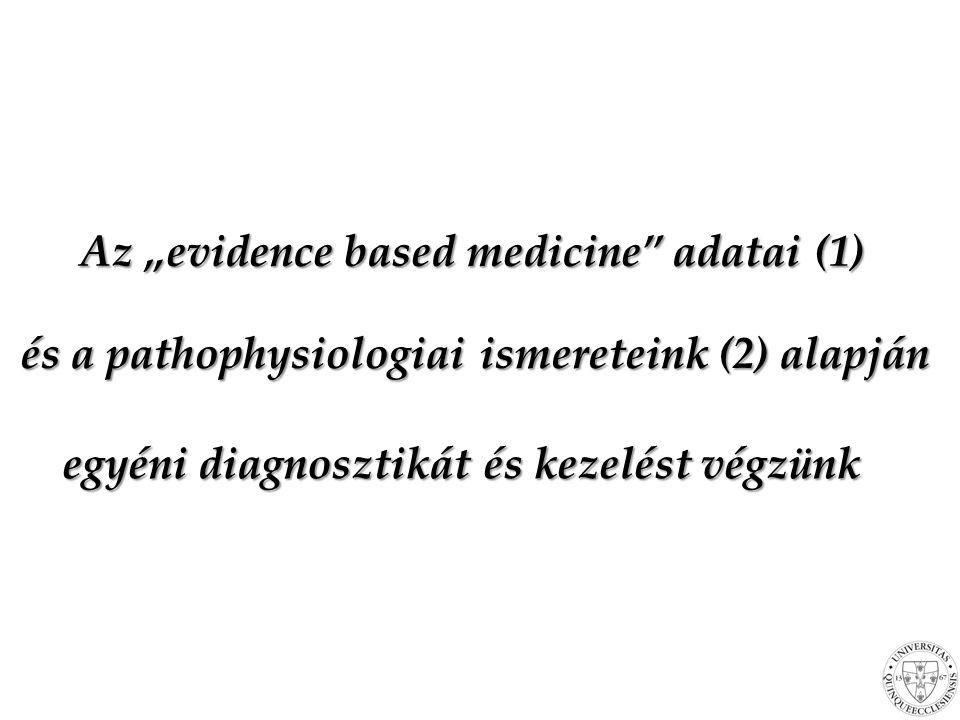 "Az ""evidence based medicine adatai (1)"