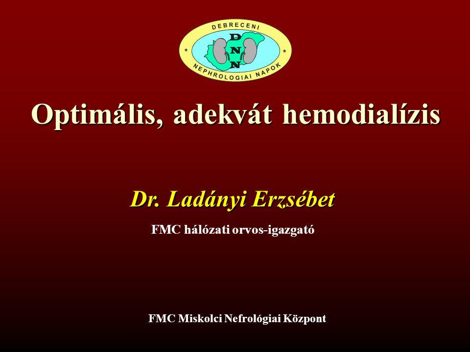Optimális, adekvát hemodialízis