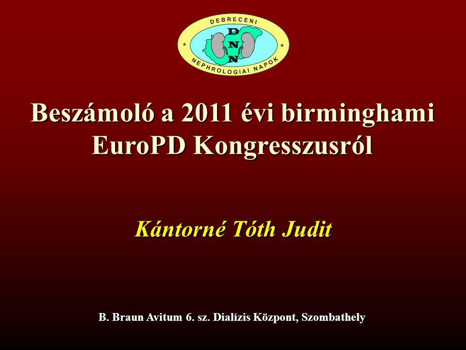 Beszámoló a 2011 évi birminghami EuroPD Kongresszusról