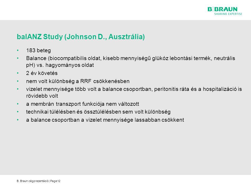 balANZ Study (Johnson D., Ausztrália)