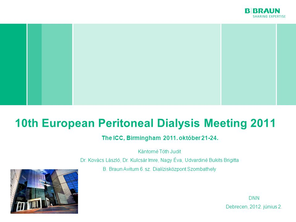 10th European Peritoneal Dialysis Meeting 2011