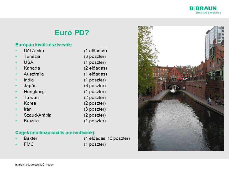 Euro PD Európán kívüli résztvevők: Dél-Afrika (1 előadás)