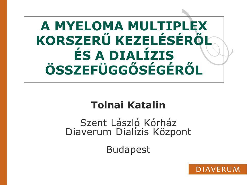 Tolnai Katalin Szent László Kórház Diaverum Dialízis Központ Budapest