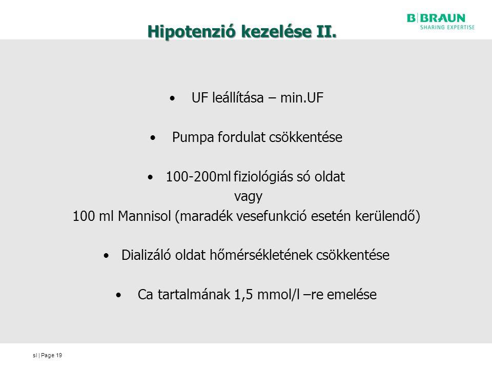 Hipotenzió kezelése II.