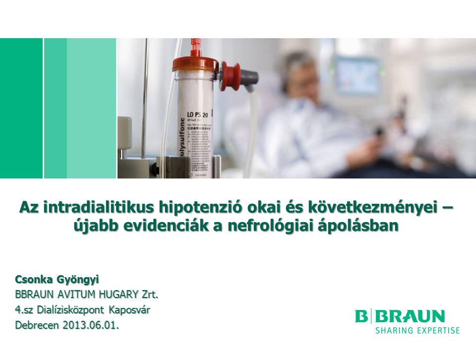 Az intradialitikus hipotenzió okai és következményei – újabb evidenciák a nefrológiai ápolásban