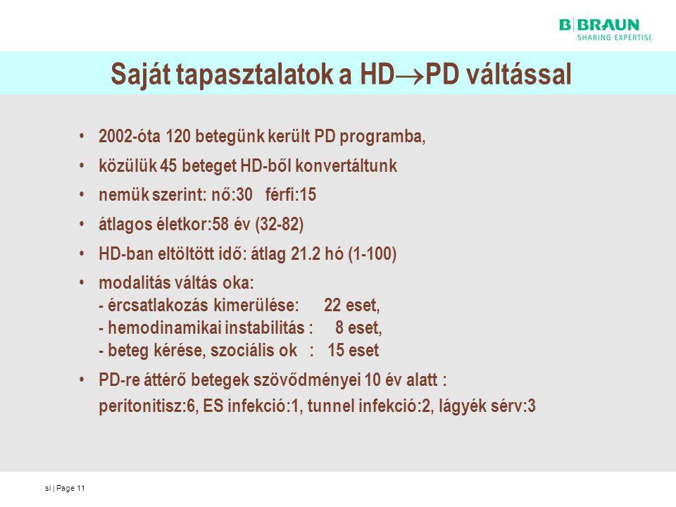 Saját tapasztalatok a HDPD váltással