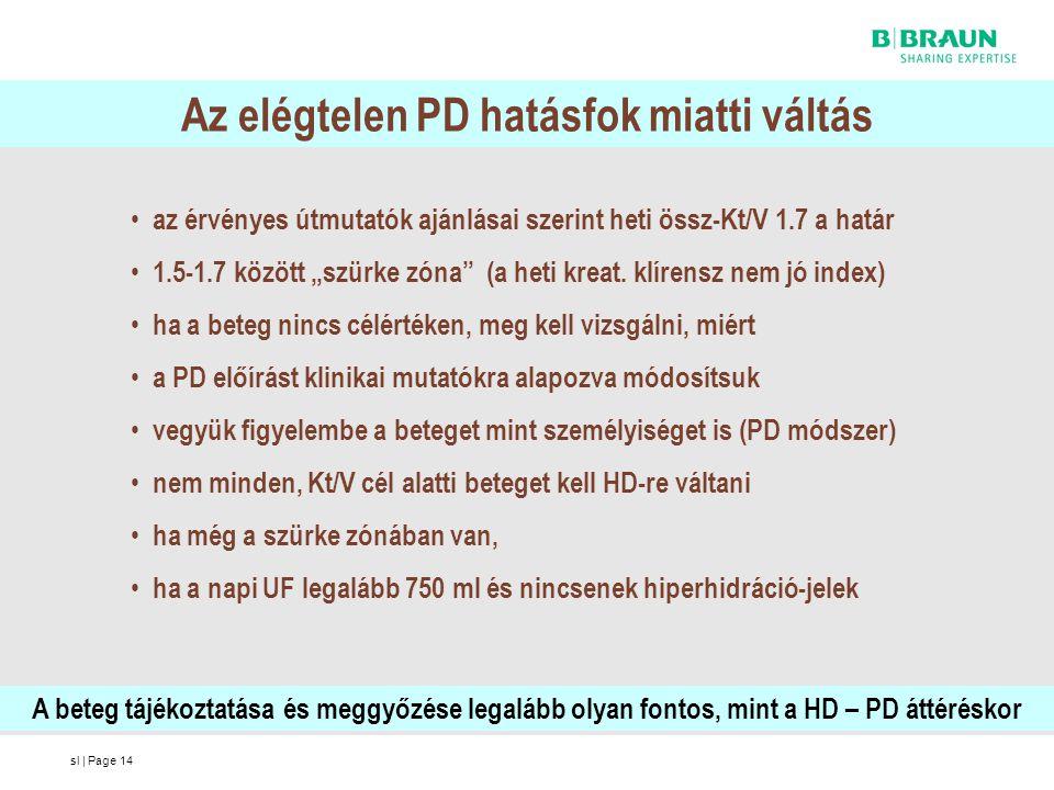 Az elégtelen PD hatásfok miatti váltás