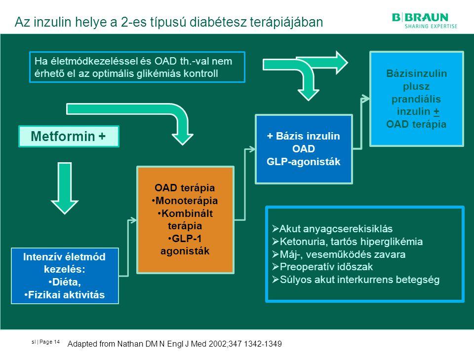 Az inzulin helye a 2-es típusú diabétesz terápiájában
