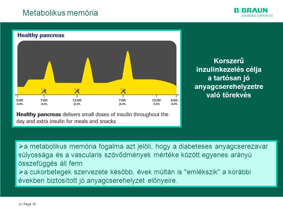 Metabolikus memória Korszerű inzulinkezelés célja