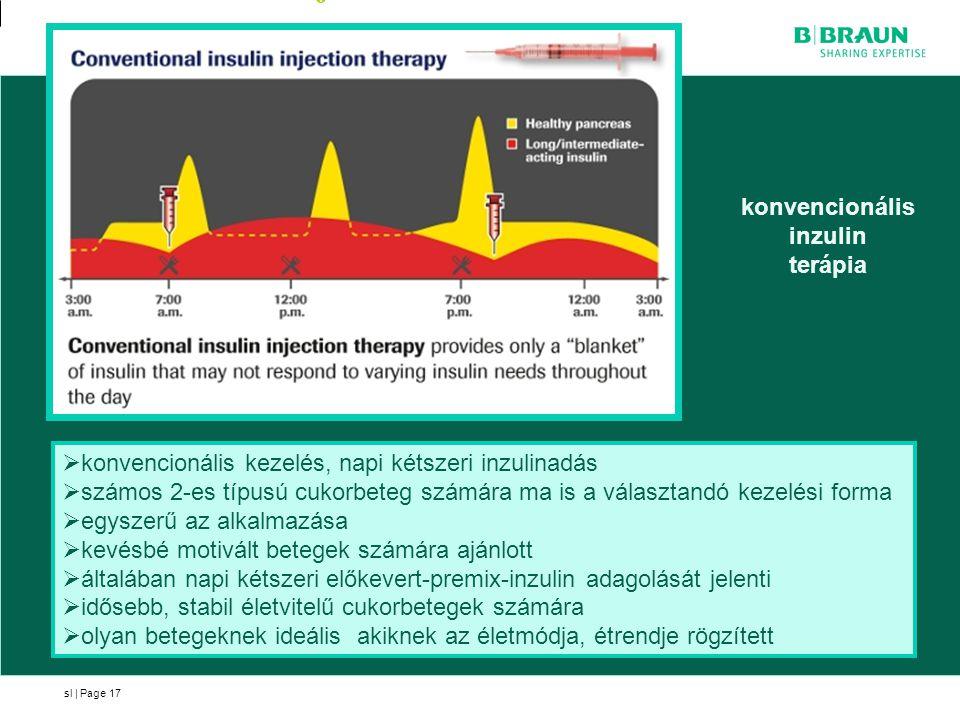 konvencionális inzulin