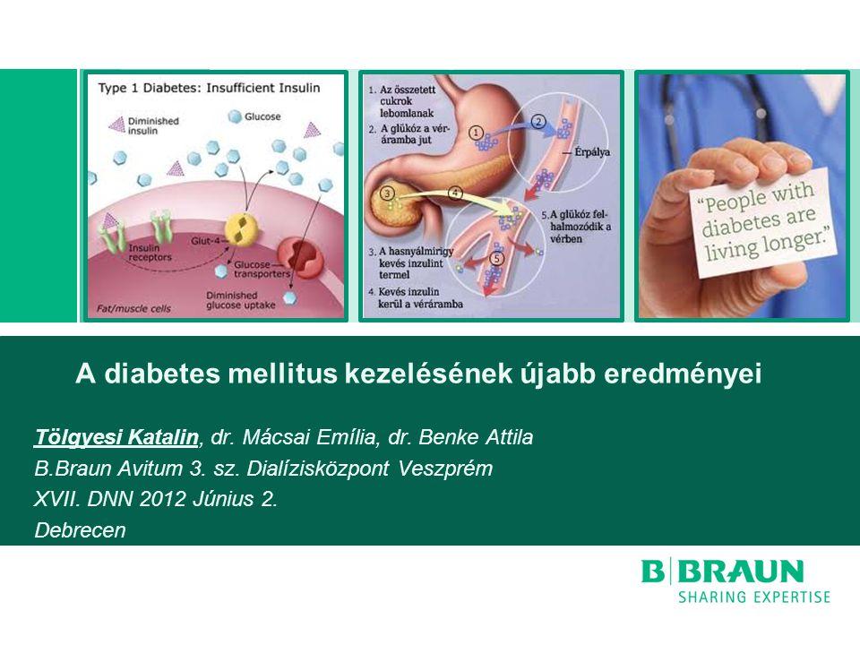 A diabetes mellitus kezelésének újabb eredményei