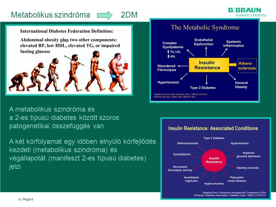 Metabolikus szindróma 2DM