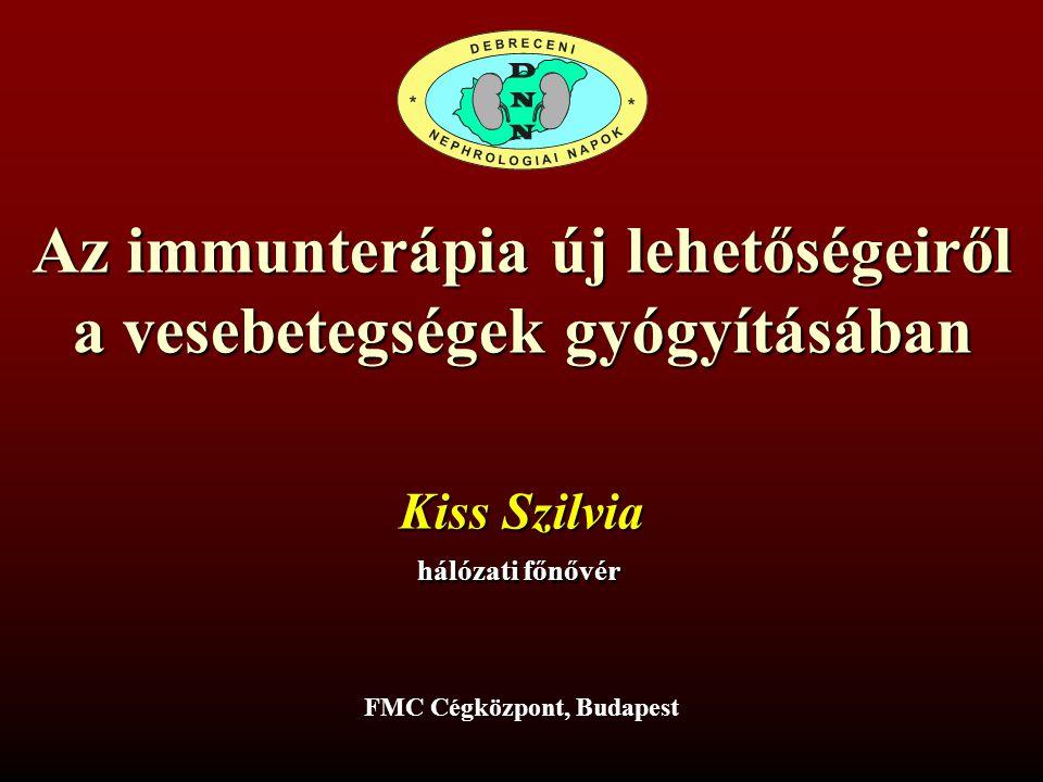 Az immunterápia új lehetőségeiről a vesebetegségek gyógyításában