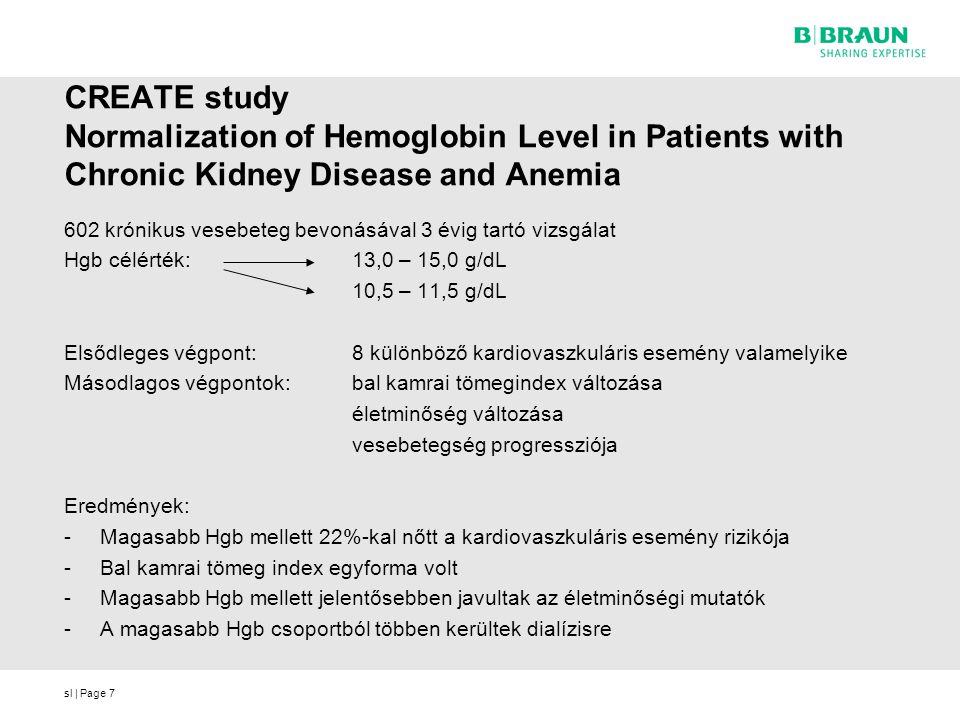 CREATE study Normalization of Hemoglobin Level in Patients with Chronic Kidney Disease and Anemia