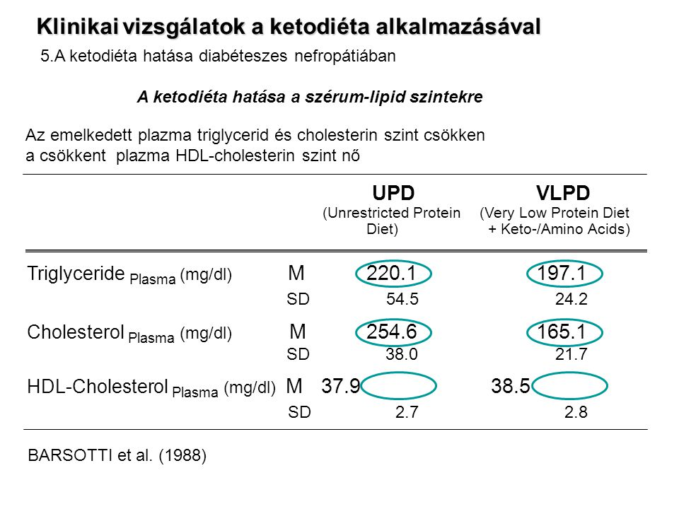 A ketodiéta hatása a szérum-lipid szintekre