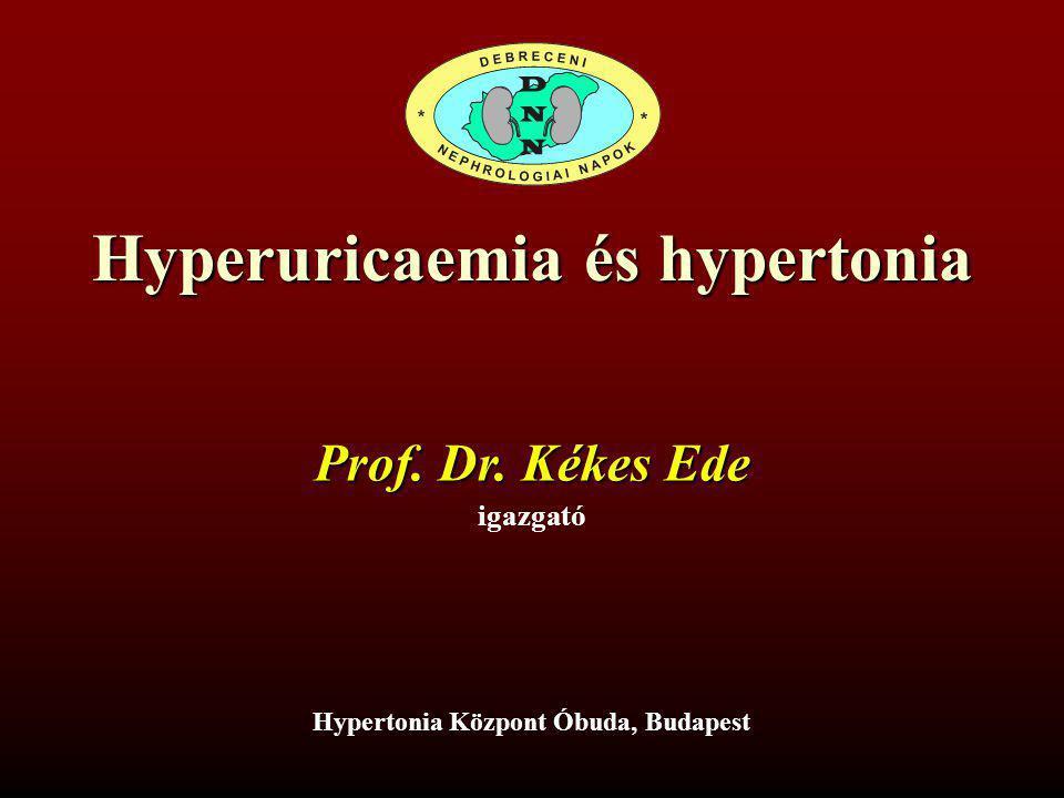 Hyperuricaemia és hypertonia Hypertonia Központ Óbuda, Budapest
