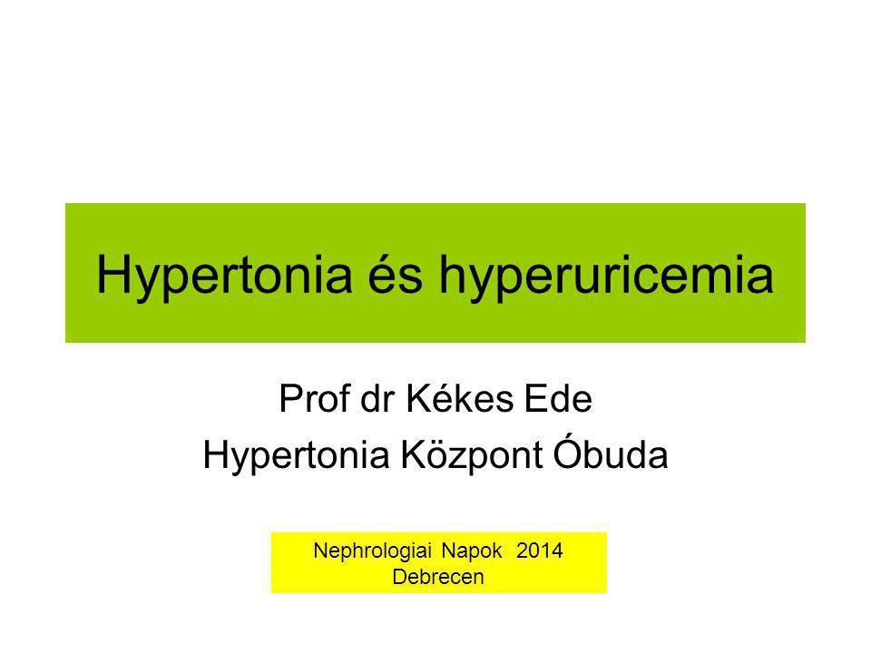 Hypertonia és hyperuricemia