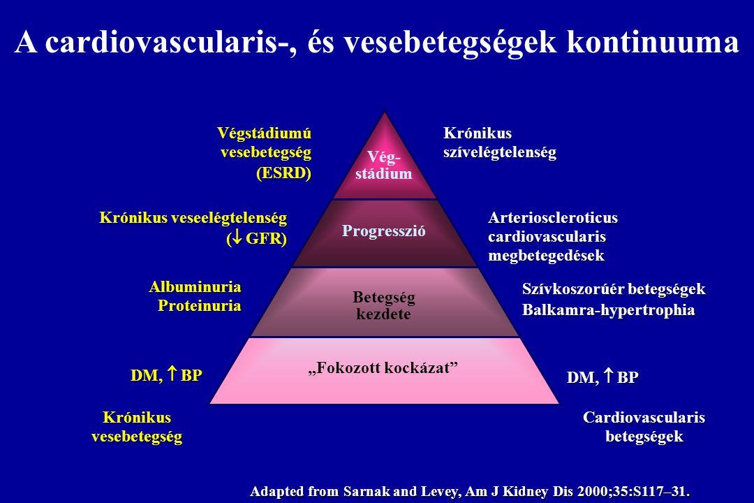 A cardiovascularis-, és vesebetegségek kontinuuma