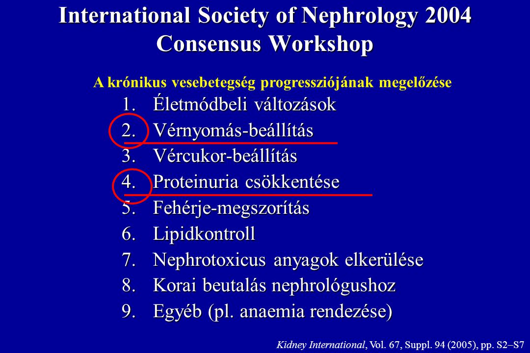 International Society of Nephrology 2004 Consensus Workshop