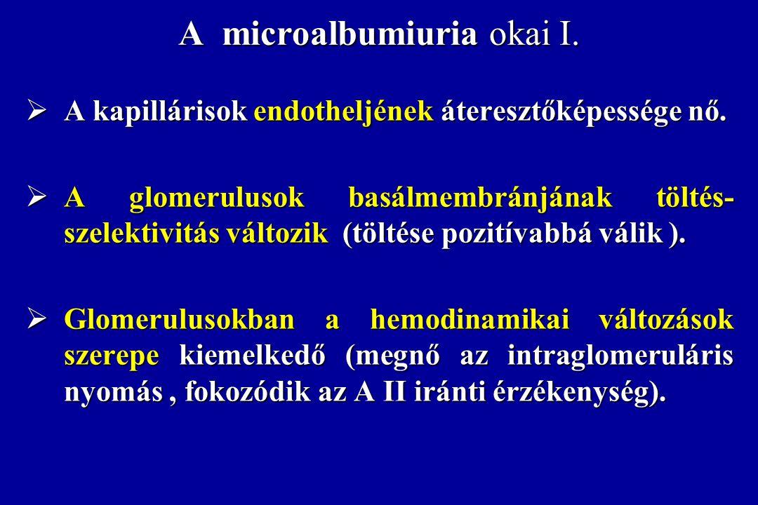 A microalbumiuria okai I.