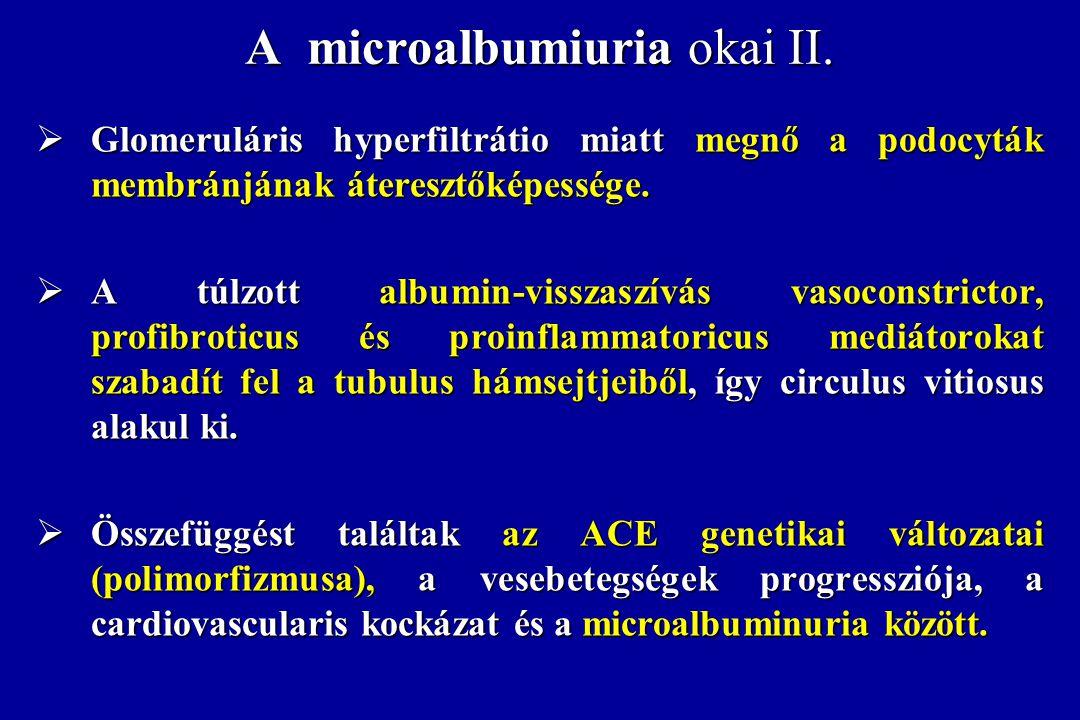 A microalbumiuria okai II.