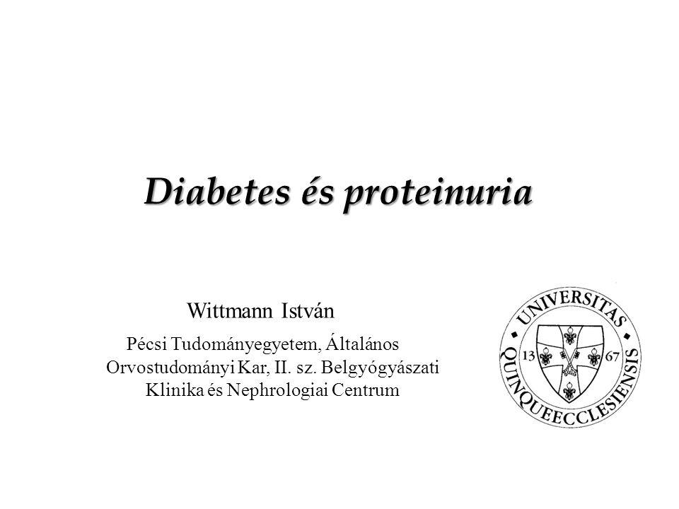 Diabetes és proteinuria