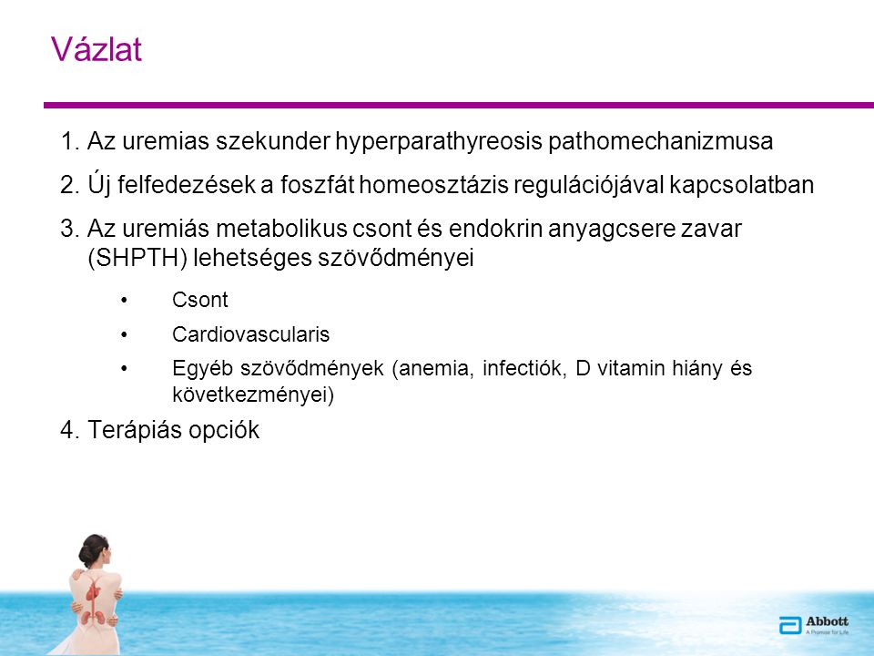 Vázlat Az uremias szekunder hyperparathyreosis pathomechanizmusa