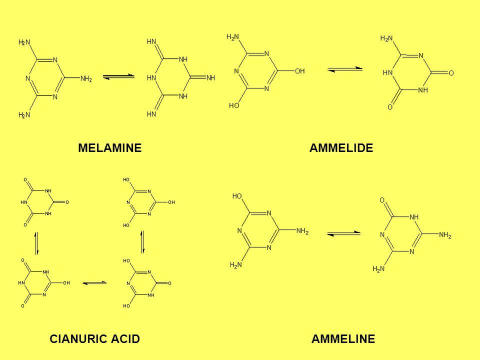 CIANURIC ACID AMMELINE
