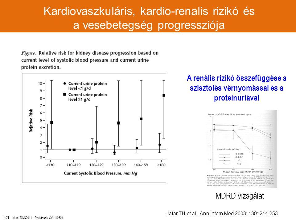 Kardiovaszkuláris, kardio-renalis rizikó és