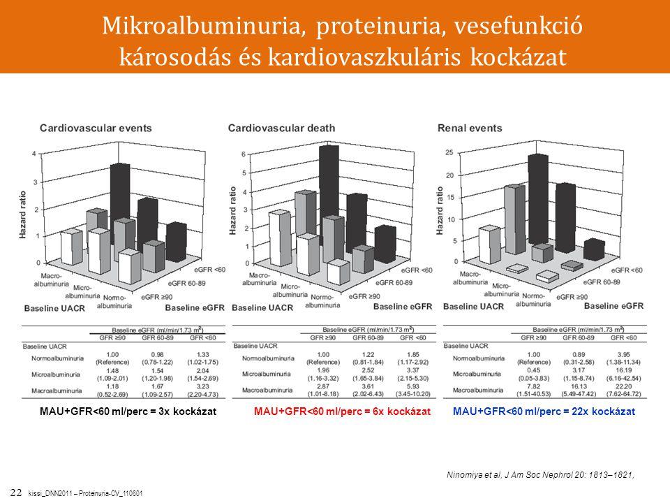 Mikroalbuminuria, proteinuria, vesefunkció károsodás és kardiovaszkuláris kockázat