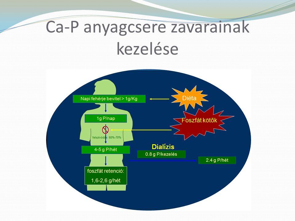 Ca-P anyagcsere zavarainak kezelése