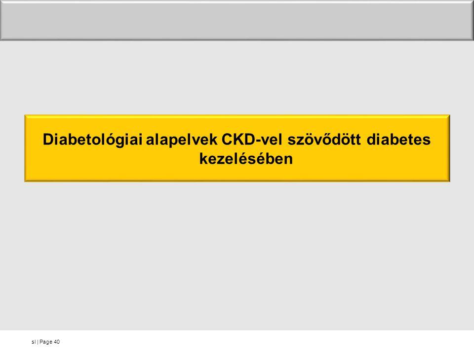 Diabetológiai alapelvek CKD-vel szövődött diabetes kezelésében