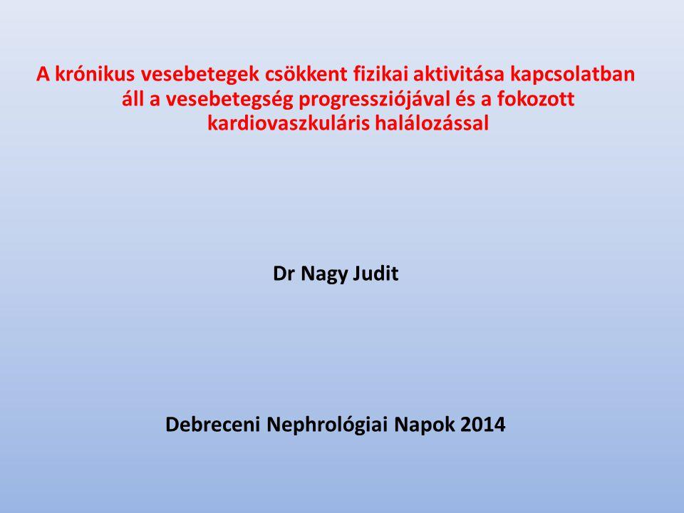 Debreceni Nephrológiai Napok 2014