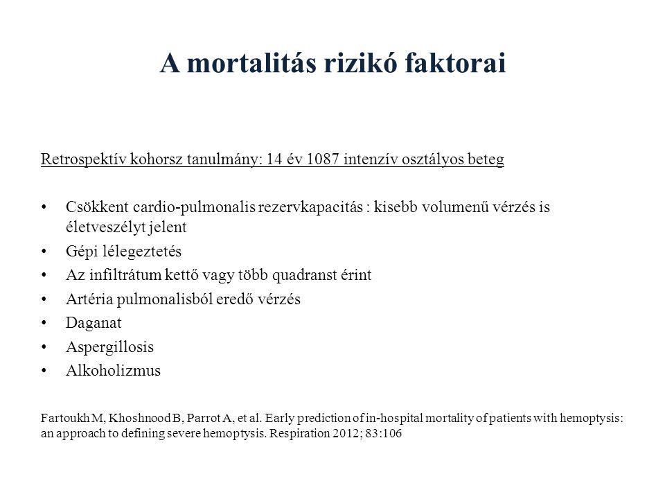 A mortalitás rizikó faktorai