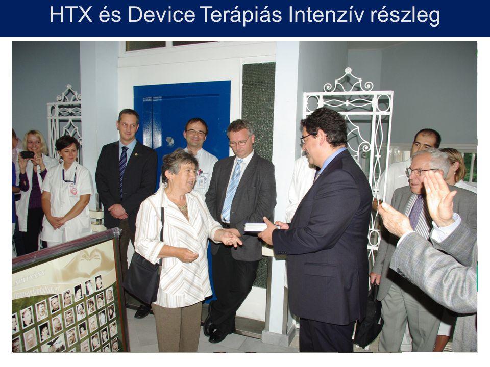 HTX és Device Terápiás Intenzív részleg