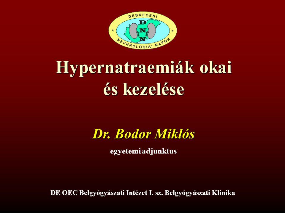 DE OEC Belgyógyászati Intézet I. sz. Belgyógyászati Klinika