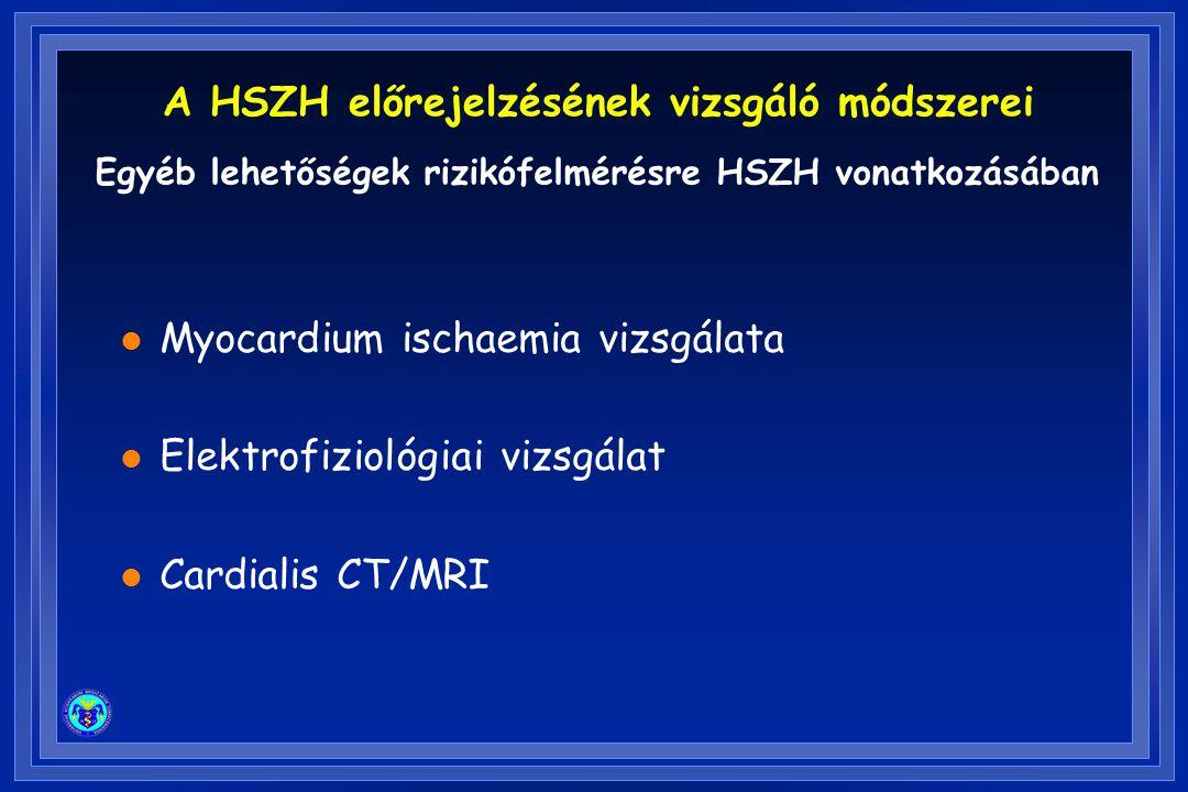 A HSZH előrejelzésének vizsgáló módszerei