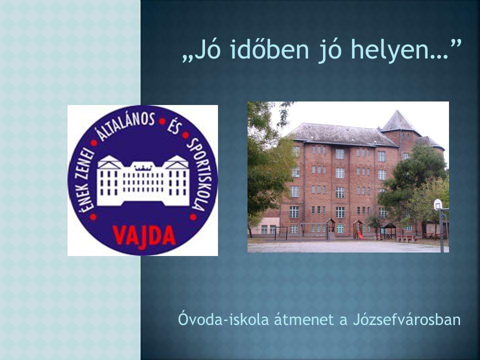 Óvoda-iskola átmenet a Józsefvárosban